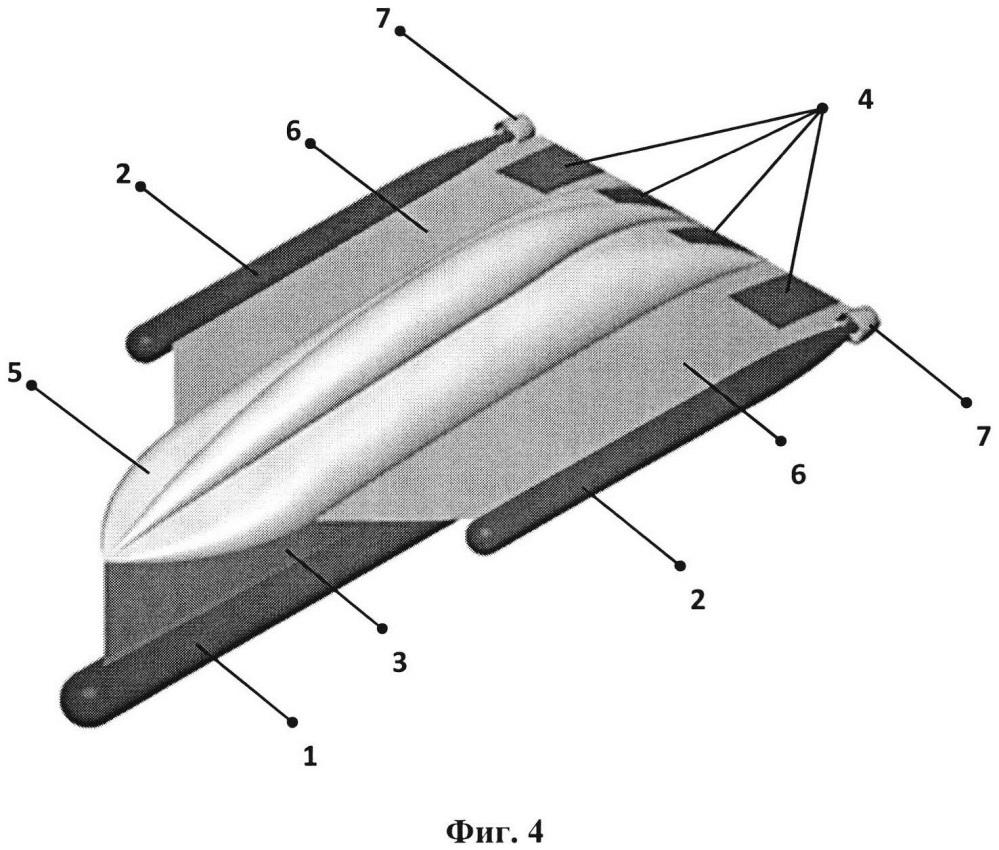 Надводно-подводный аппарат с изменяемой геометрией формы корпуса