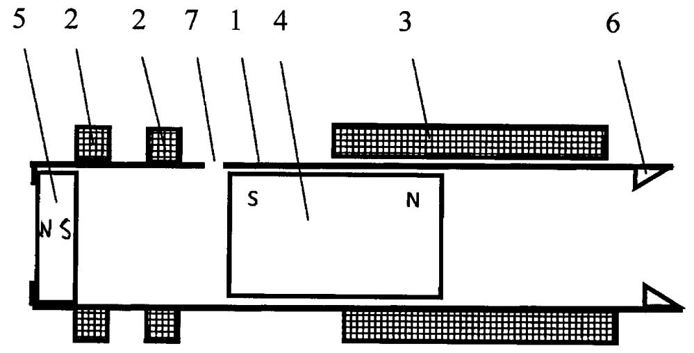 Линейный электрический генератор