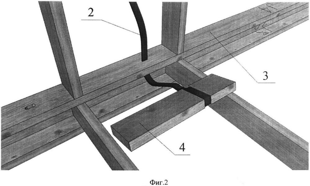 Конструкция каркасного строительного модуля
