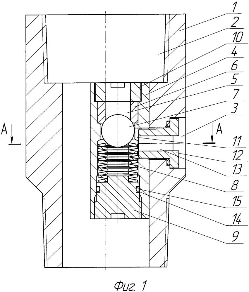 Клапан промывочный шариковый