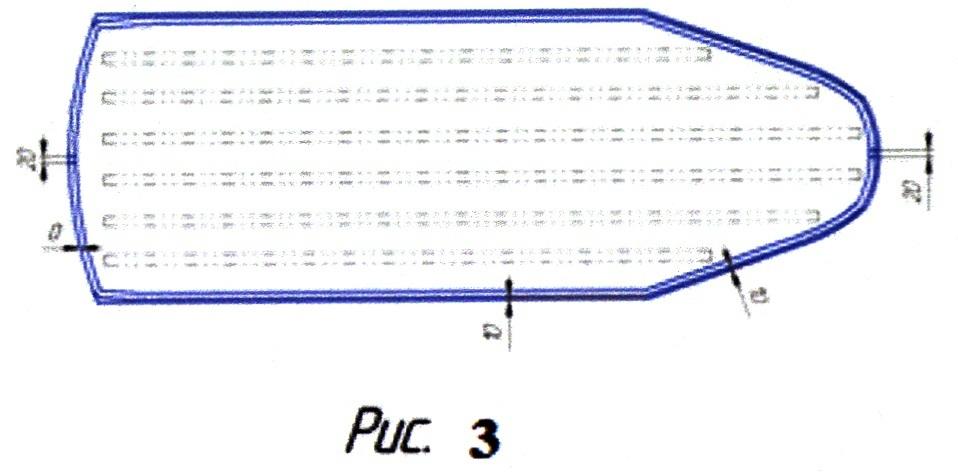 Способ изготовления надувного днища для надувной лодки