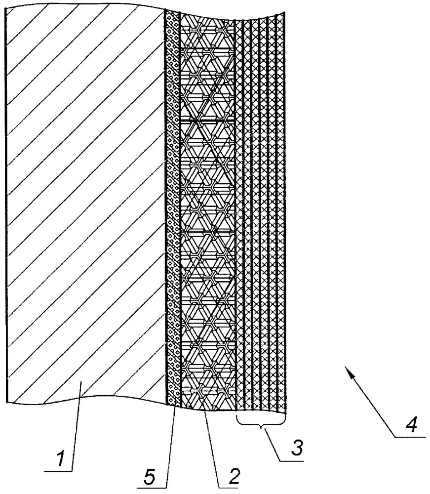 Многослойная композиционная бронированная стенка