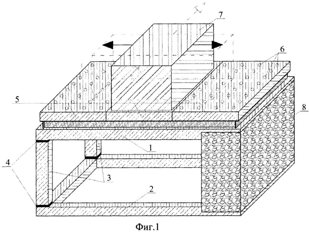 Вибростенд для испытаний строительных конструкций на сейсмическую нагрузку