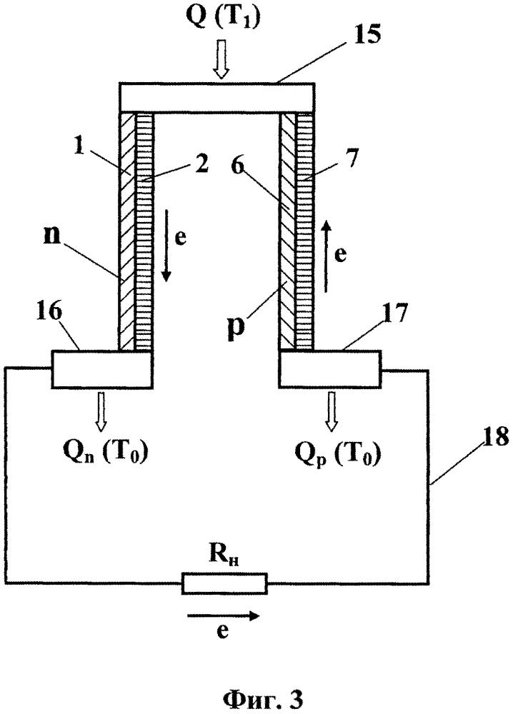 Способ работы прямого и обратного обратимого термоэлектрического цикла и устройство для его реализации (варианты)