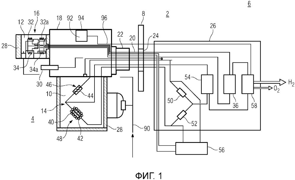 Способ количественного анализа состава газовой смеси и соответствующее измерительное устройство