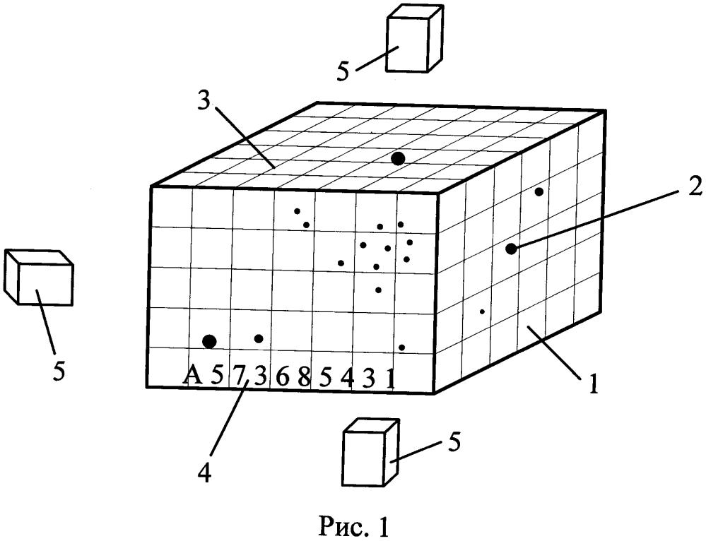 Способ трехмерной идентификации твердого объекта