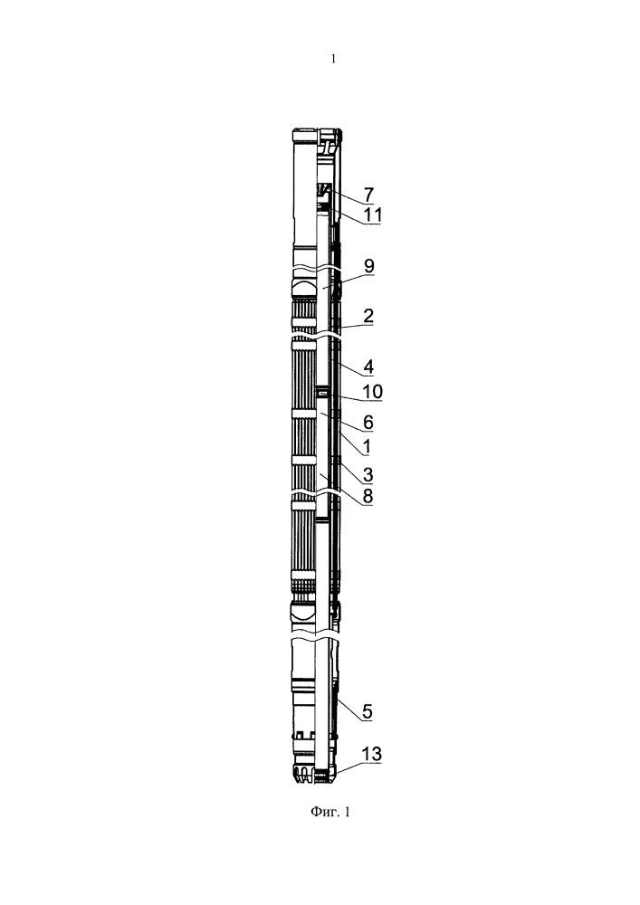 Бесчехловая регулирующая тепловыделяющая сборка жидкометаллического ядерного реактора