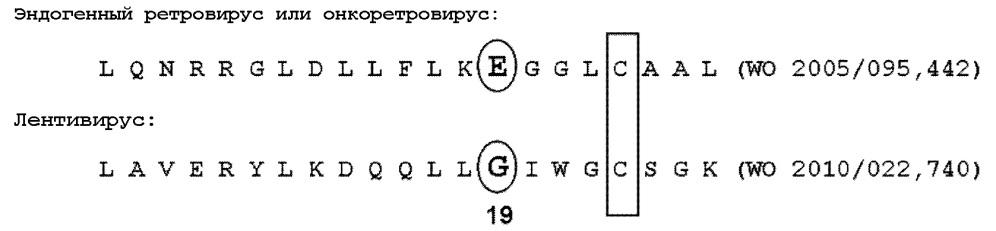 Мутантные лентивирусные белки env и их применение в качестве лекарственных средств