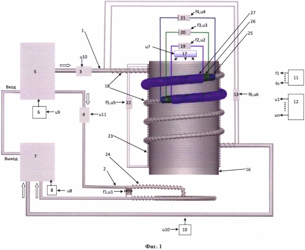 Устройство для бесконтактной обработки веществ с изменением их физических свойств