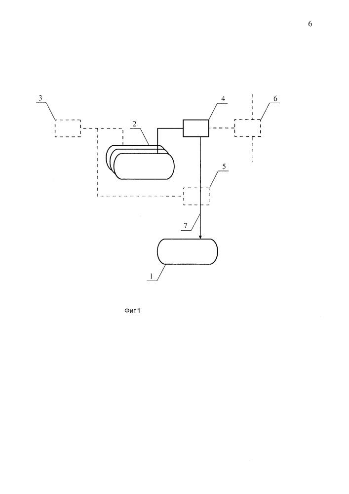 Установка слива и дегазации вагон-цистерн для сжиженных углеводородных газов