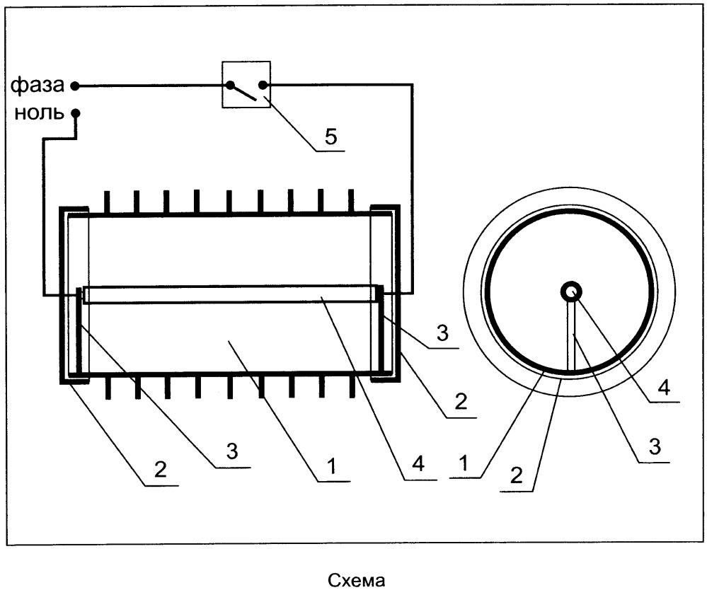 Конвектор с инфракрасным нагревательным элементом