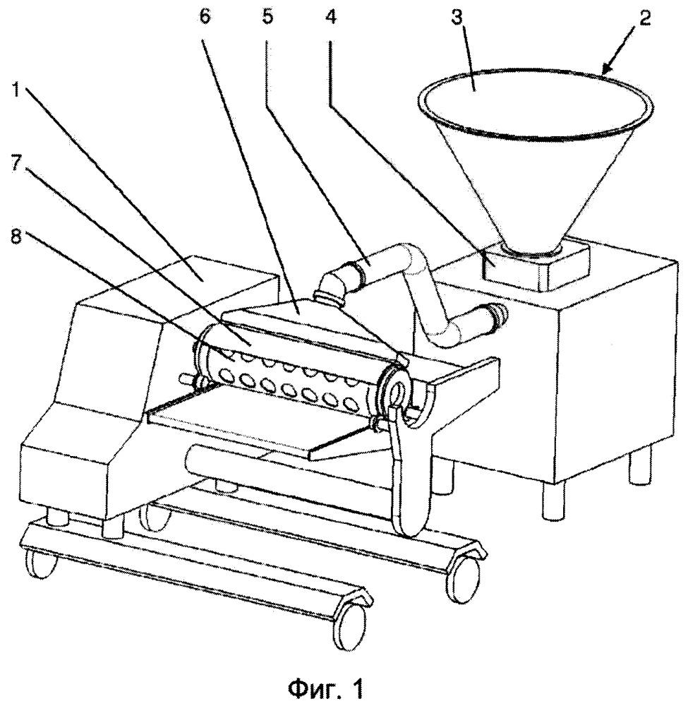 Способ заполнения полостей в формующем элементе