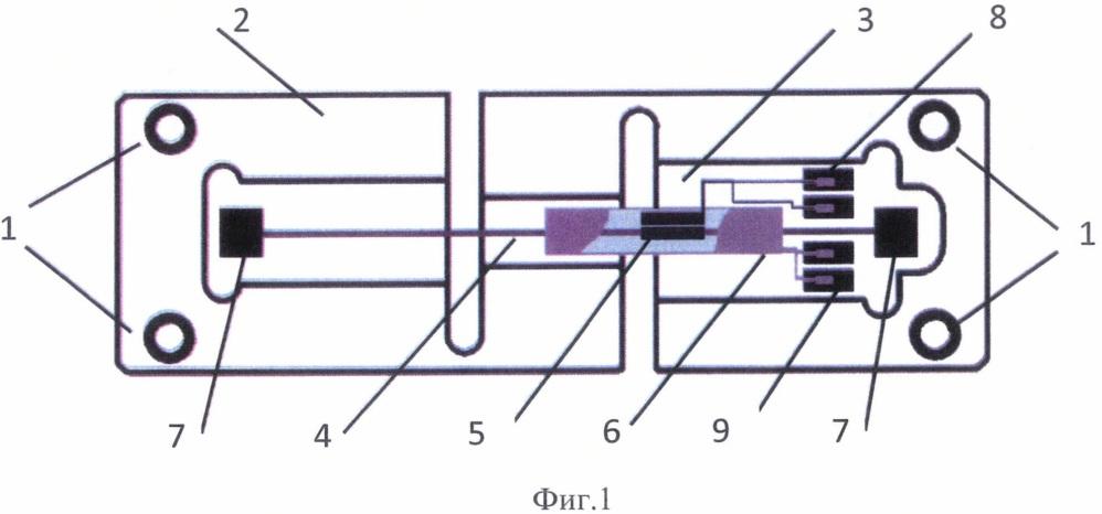 Датчик измерения механических деформаций
