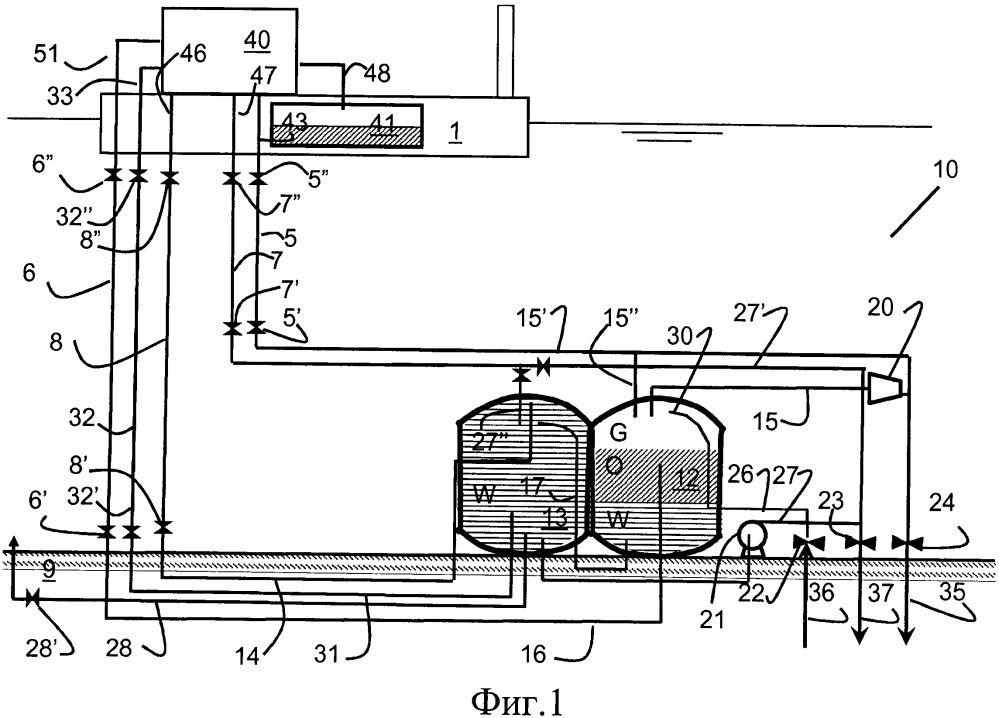 Система глубоководной добычи нефти