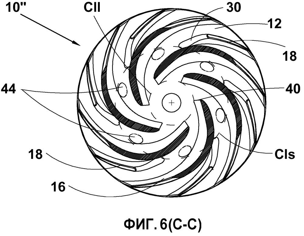 Рабочее колесо центробежного питательного насоса напорного ящика