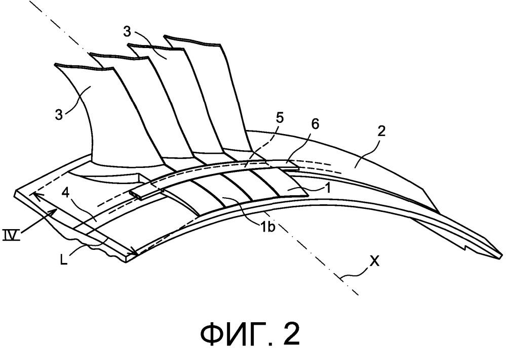 Деталь изменения контура аэродинамического тракта