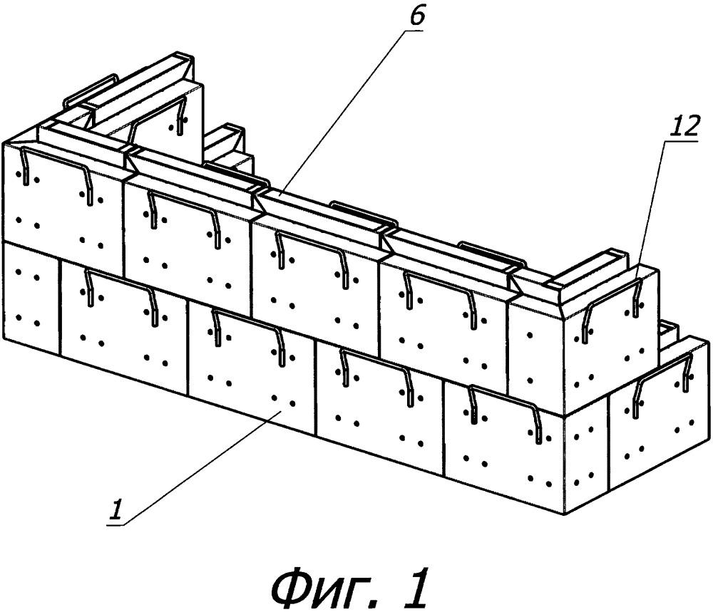 Сборно-разборное защитное сооружение и его блок