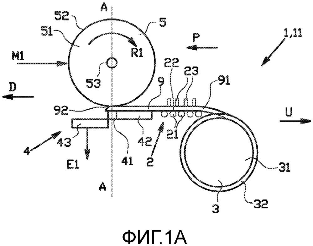 Способ подбора и укладки компонента шины на передаточный барабан