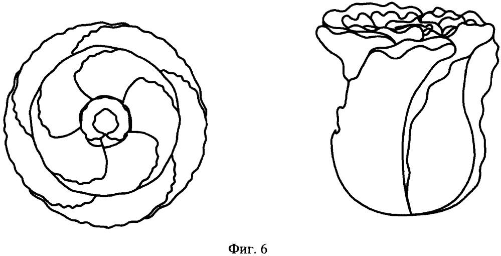 Способ изготовления цветка из металла, например розы