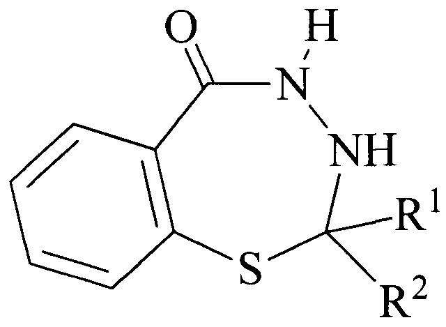 Применение 2-r1-2-r2-3,4-дигидро-1,3,4-бензотиадиазепин-5(2н)-она в качестве вещества, обладающего антиоксидантной активностью