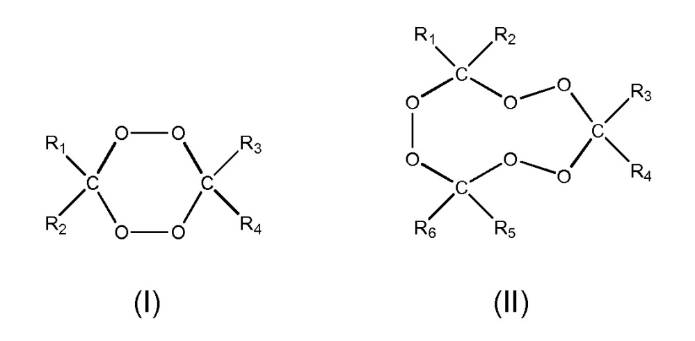 Мастербатч, содержащий циклический пероксид кетона