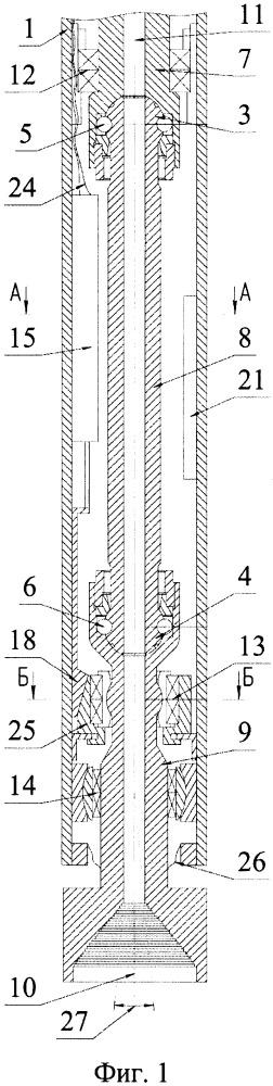 Блок отклонения системы управления буровым устройством