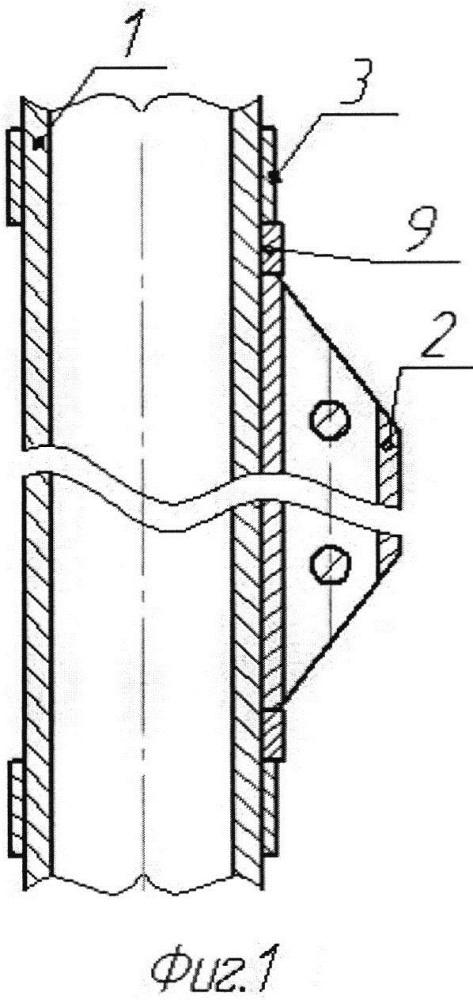 Устройство для крепления автономных измерительных приборов на лифтовых трубах