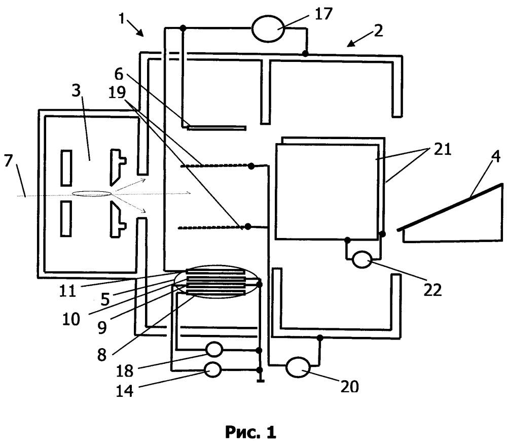 Устройство защиты литографического оборудования от пылевых металлических частиц