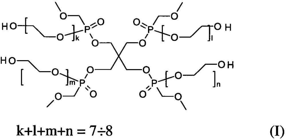 Композиция эфиров метоксиметилфосфоновой кислоты на основе пентаэритрита и способ ее получения