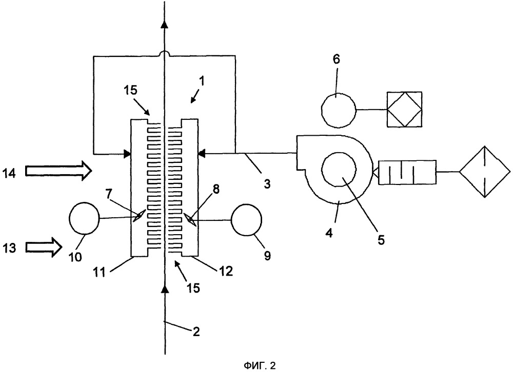 Система предварительного охлаждения с управляемым внутренним регулированием