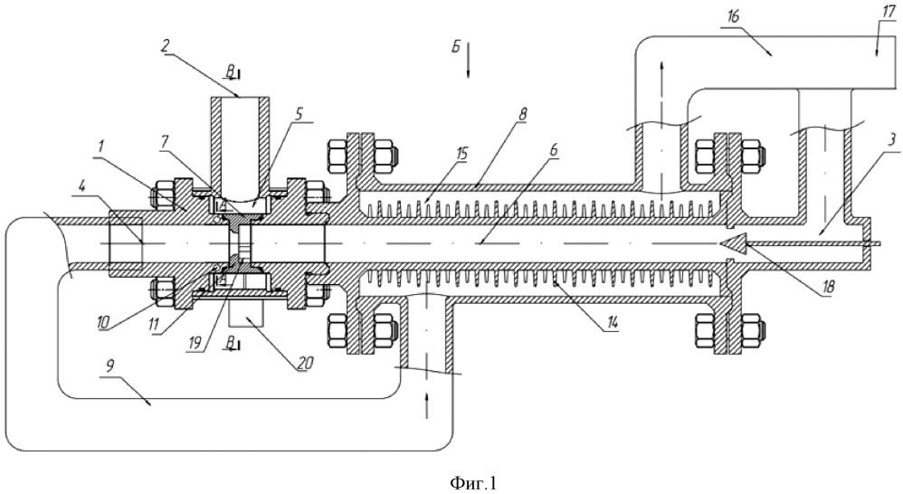 Вихревой регулятор давления газа