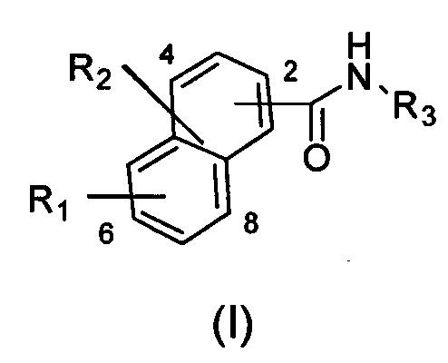 Соединение нафтиламида, способ его получения и применение