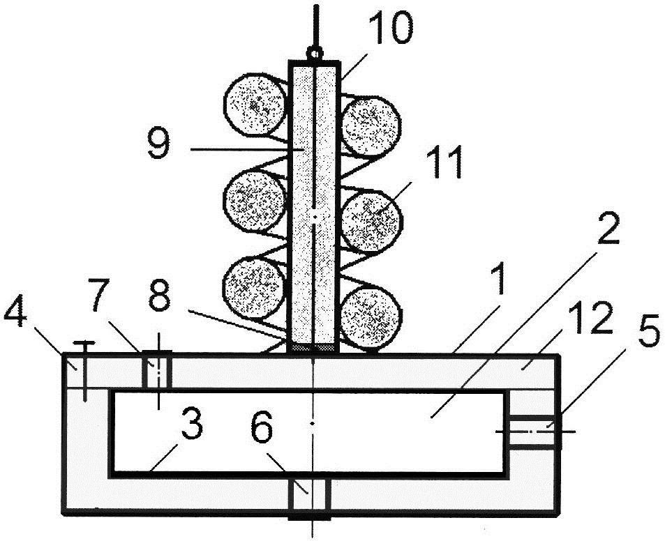 Звукопоглотитель с цилиндрическим резонатором