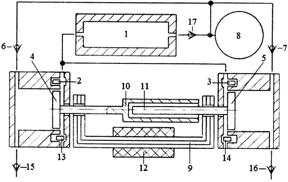 Способ трансформации тепловой энергии в электроэнергию двухцилиндровым свободнопоршневым энергомодулем с теплообменником и линейным электрогенератором