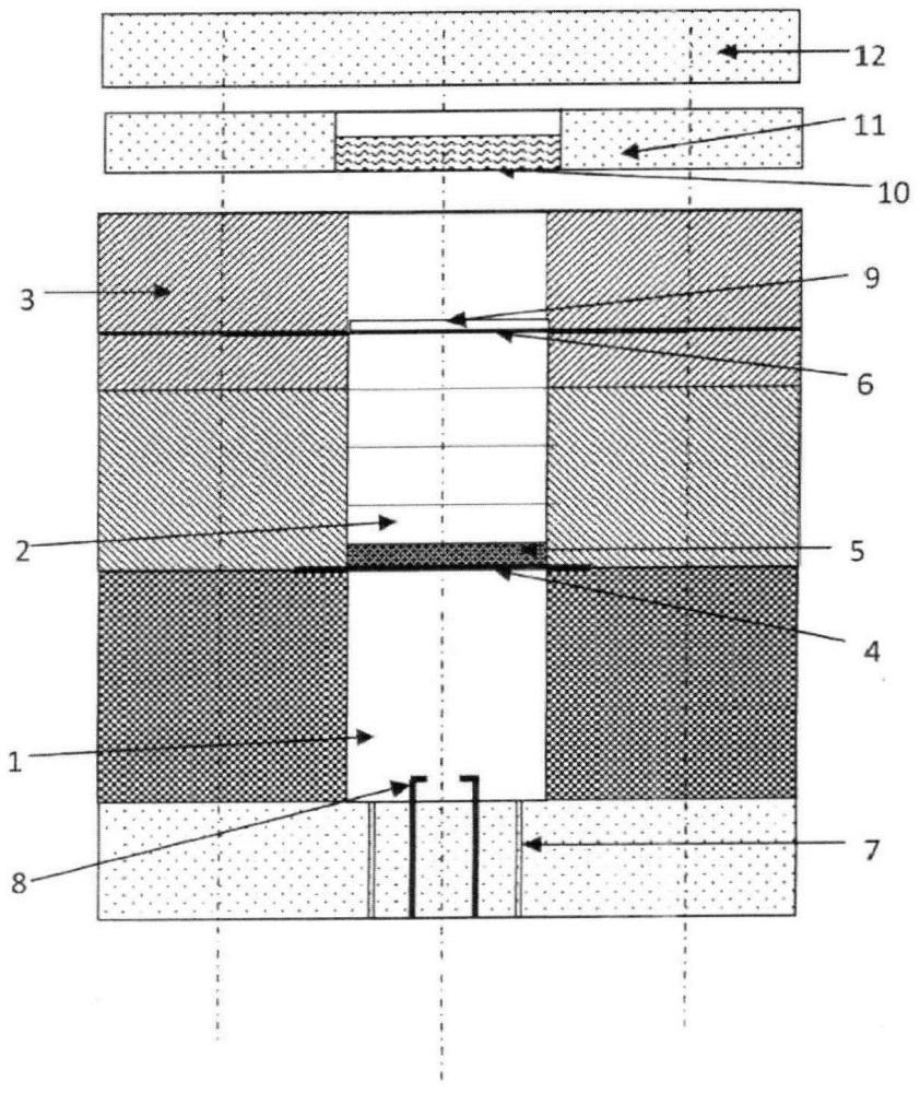 Устройство для формирования нестационарной затухающей ударной волны в слое конденсированной среды