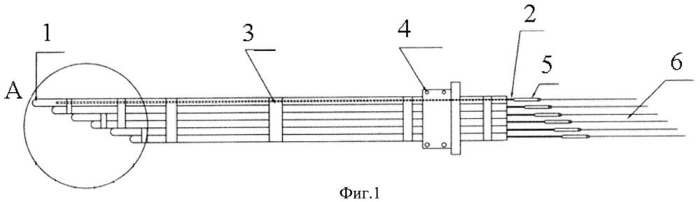 Многозонный термопреобразователь
