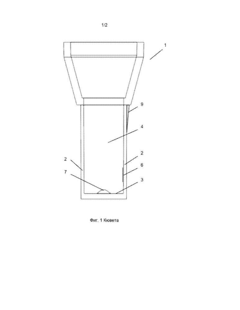 Кювета для коагулометра и устройство для определения времени свертывания текучего образца
