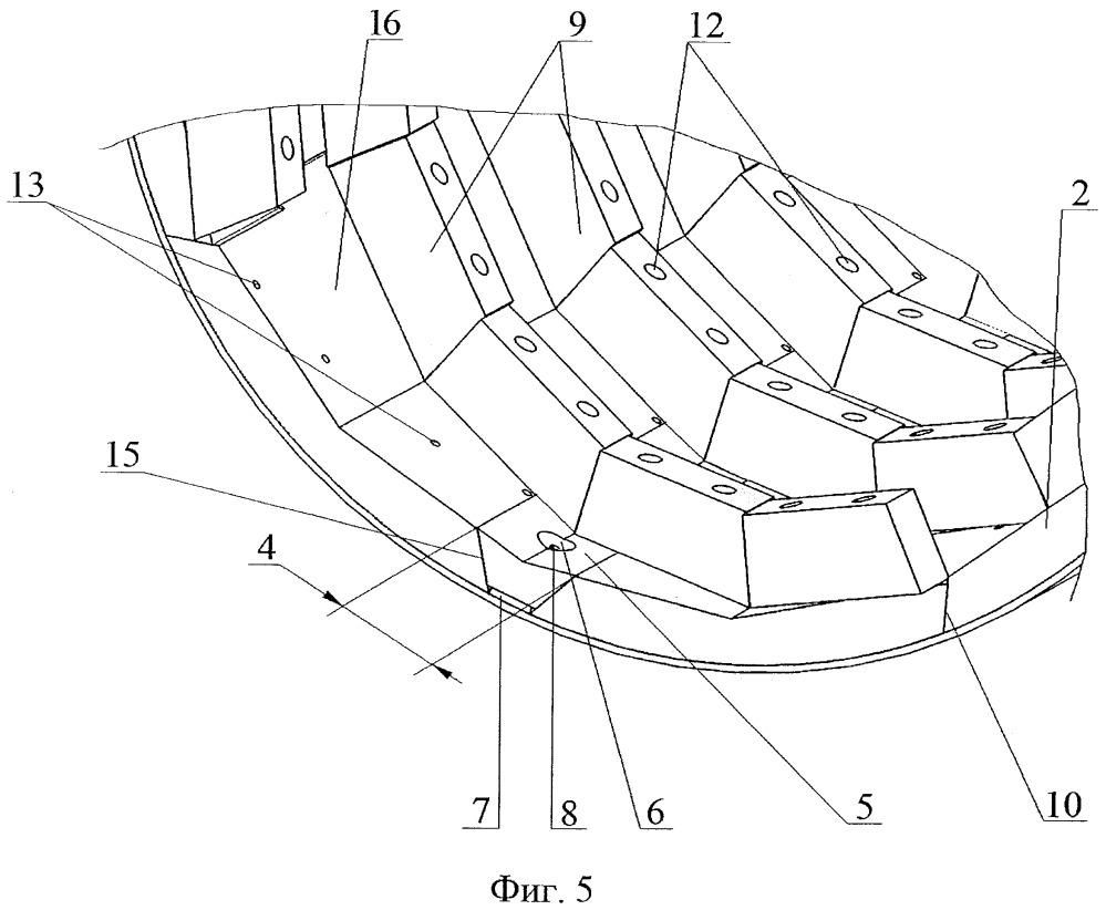 Футеровка цапфы барабанной мельницы и способ ее формирования