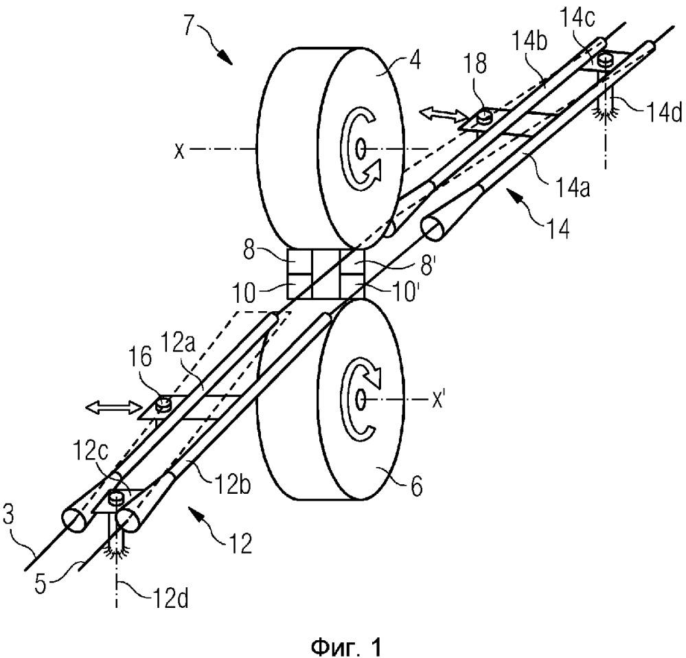 Система и способ разрезания на мерные длины длинномерного проката, выходящего из разных ручьев прокатного стана
