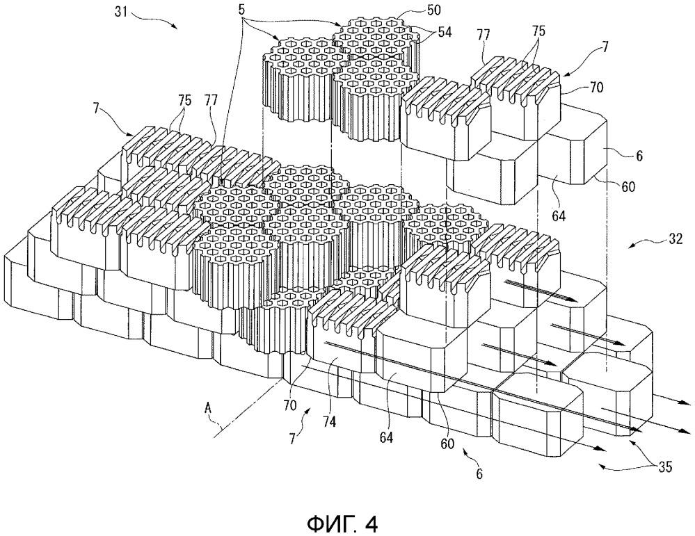 Наклонный блок и опорная конструкция
