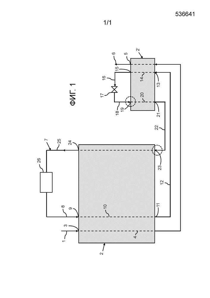Оптимизированное введение двухфазного потока смеси охладителя в способ сжижения природного газа