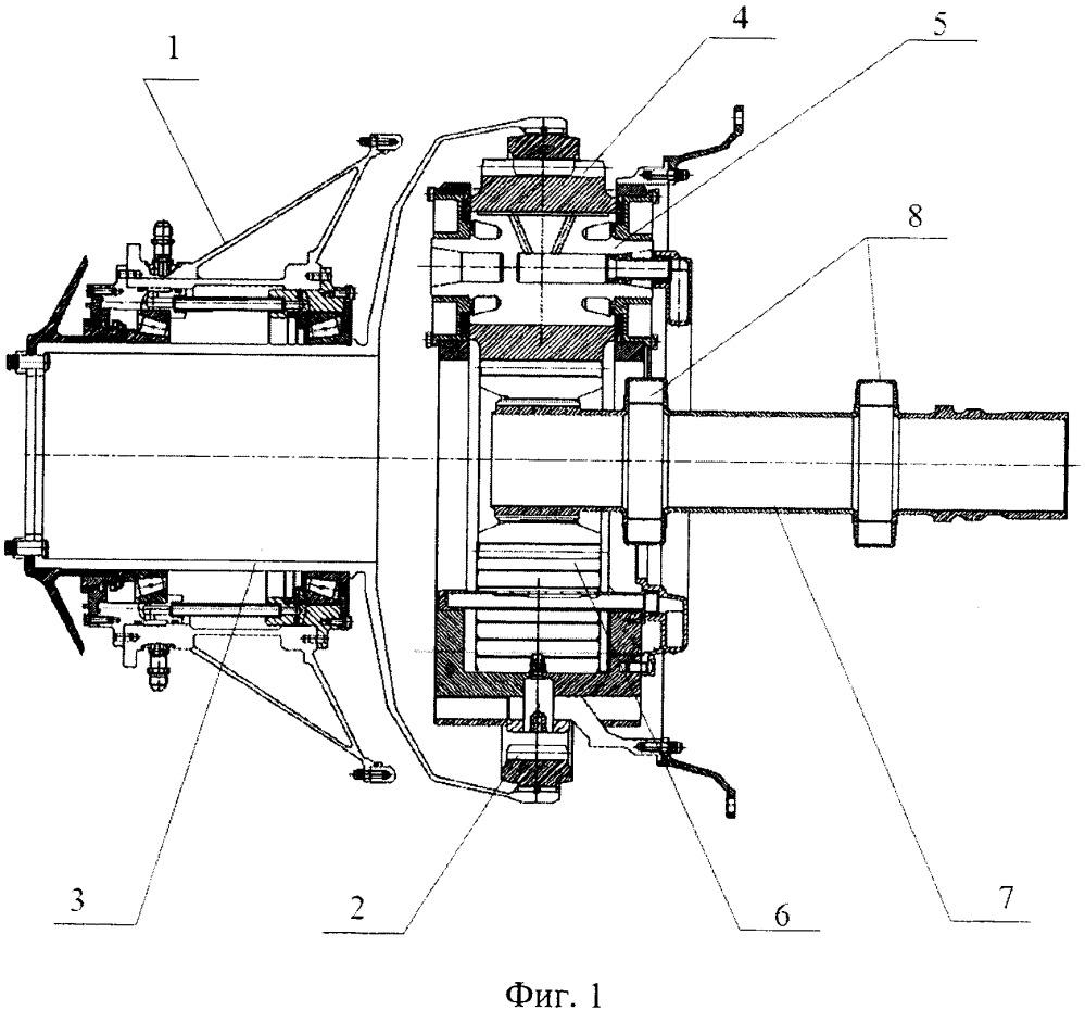 Планетарный редуктор силовой установки