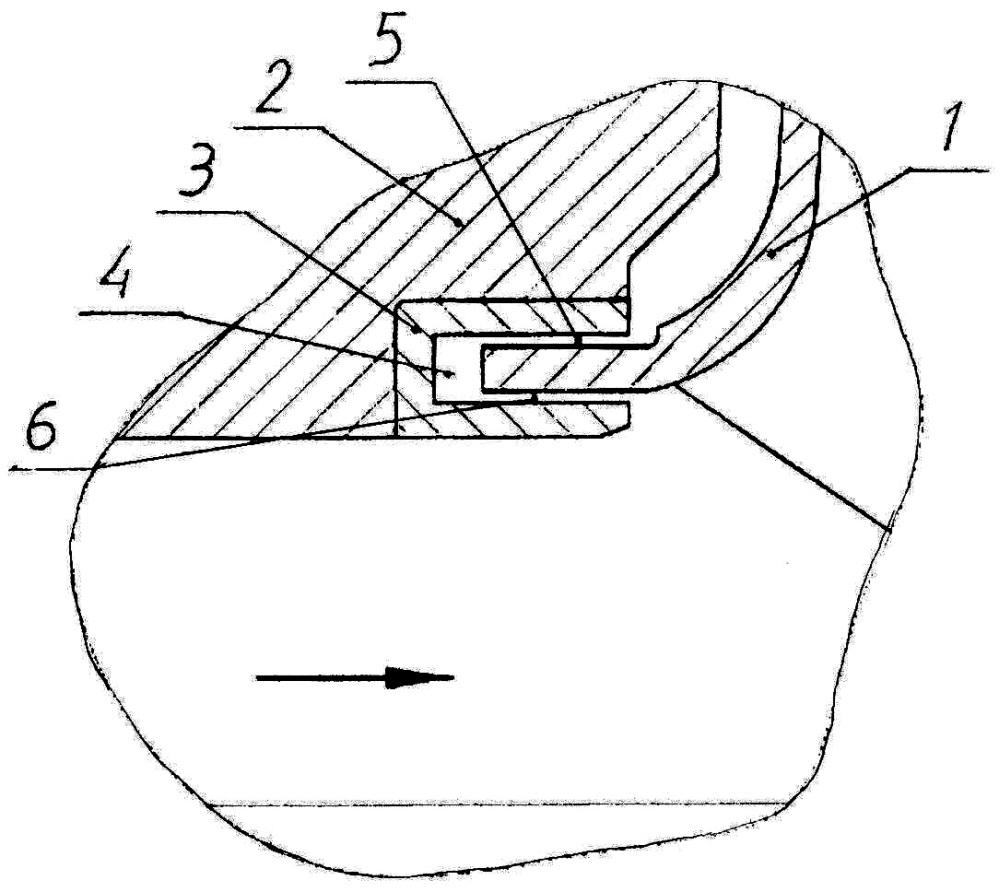 Щелевое уплотнение рабочего колеса насоса