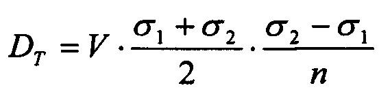 Способ определения коэффициента турбулентной диффузии в приземном слое атмосферы