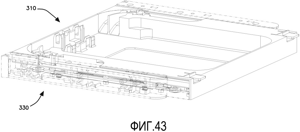 Универсальный крепежный механизм для установки телекоммуникационной рамы на телекоммуникационное крепление