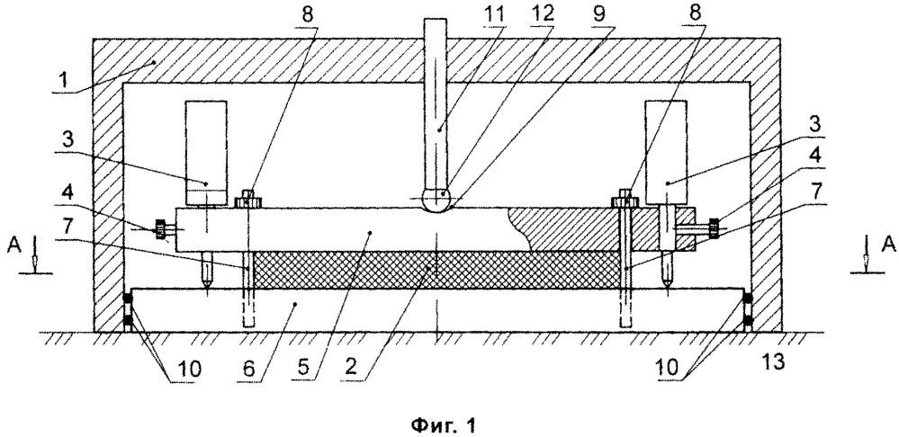Датчик для измерения давления грунта