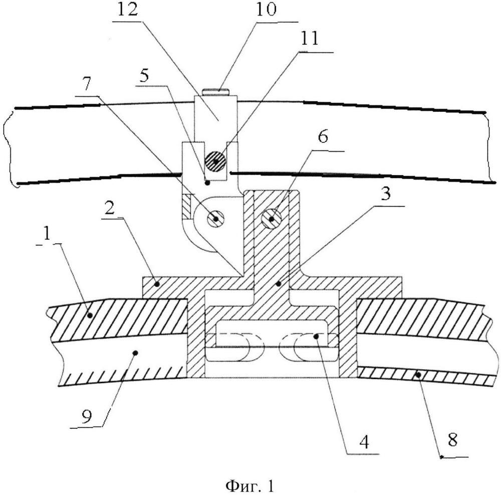 Устройство подачи воздуха для охлаждения турбины турбореактивного двигателя (варианты)