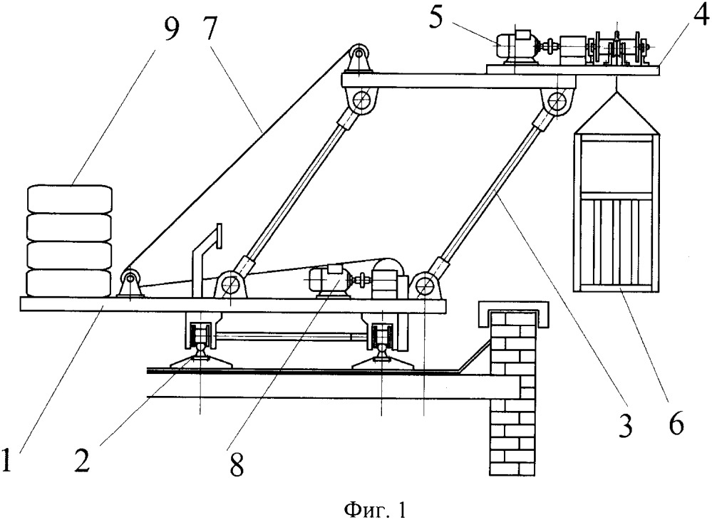 Спасательная система для высотных зданий