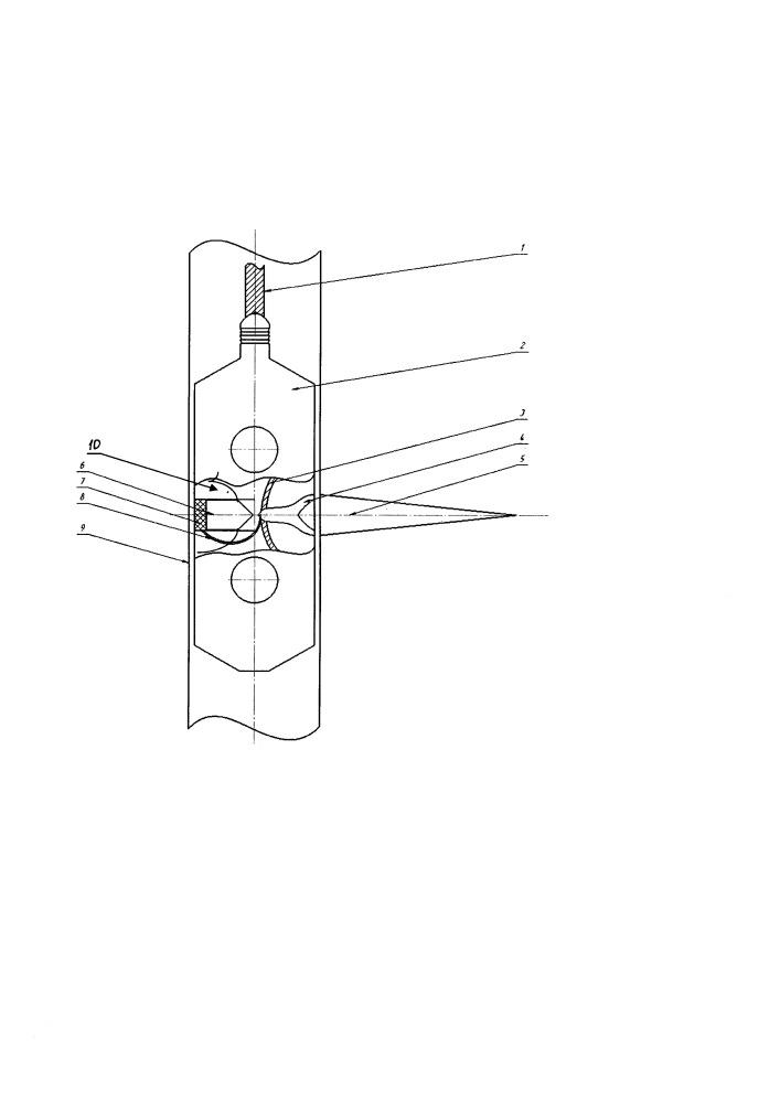 Кумулятивно-торпедный перфоратор