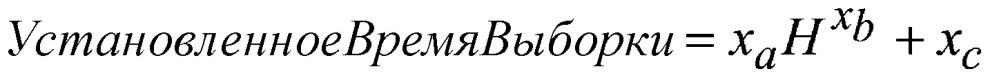 Ловушка ошибок заполнения для измерения аналита на основании заданного времени получения выборки из физической характеристики образца, содержащего аналит